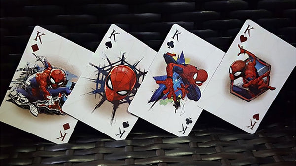 Avengers Spider Man V1 Playing Cards Official Marvel Deck