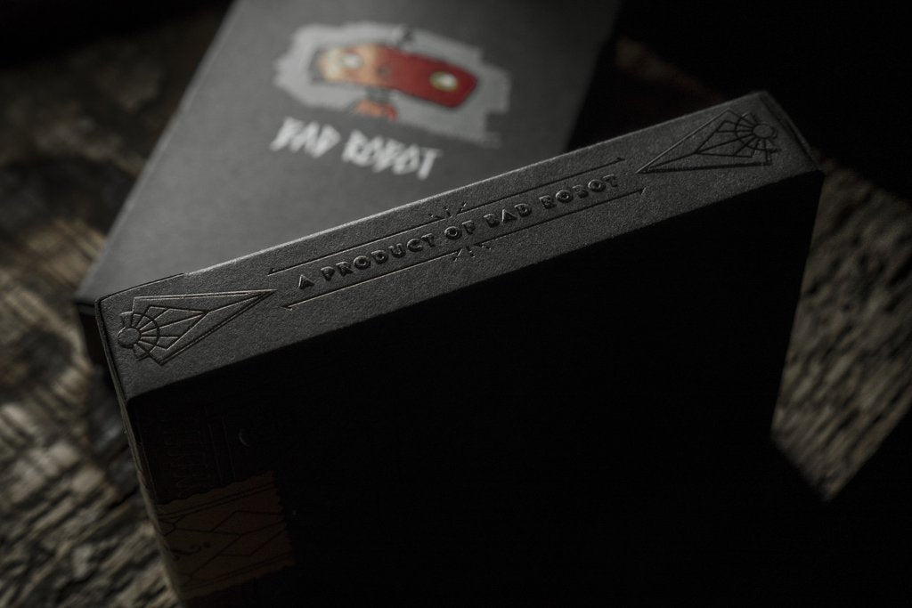 Bad robot mystery playing cards black edition poker jj abrams bad robot mystery playing cards black edition poker jj abrams reheart Choice Image