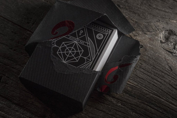 Bad Robot Mystery Playing Cards Black Edition Poker J.J. Abrams