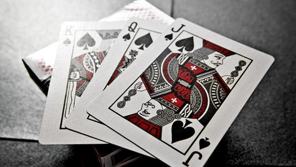 Bee Stinger Back Red Playing Cards Club Special Rare 2011 Theory 11 Deck