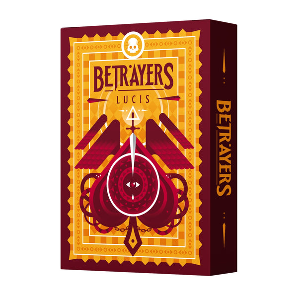 Betrayers Playing Cards Lucis Edition by Thirdway Italy