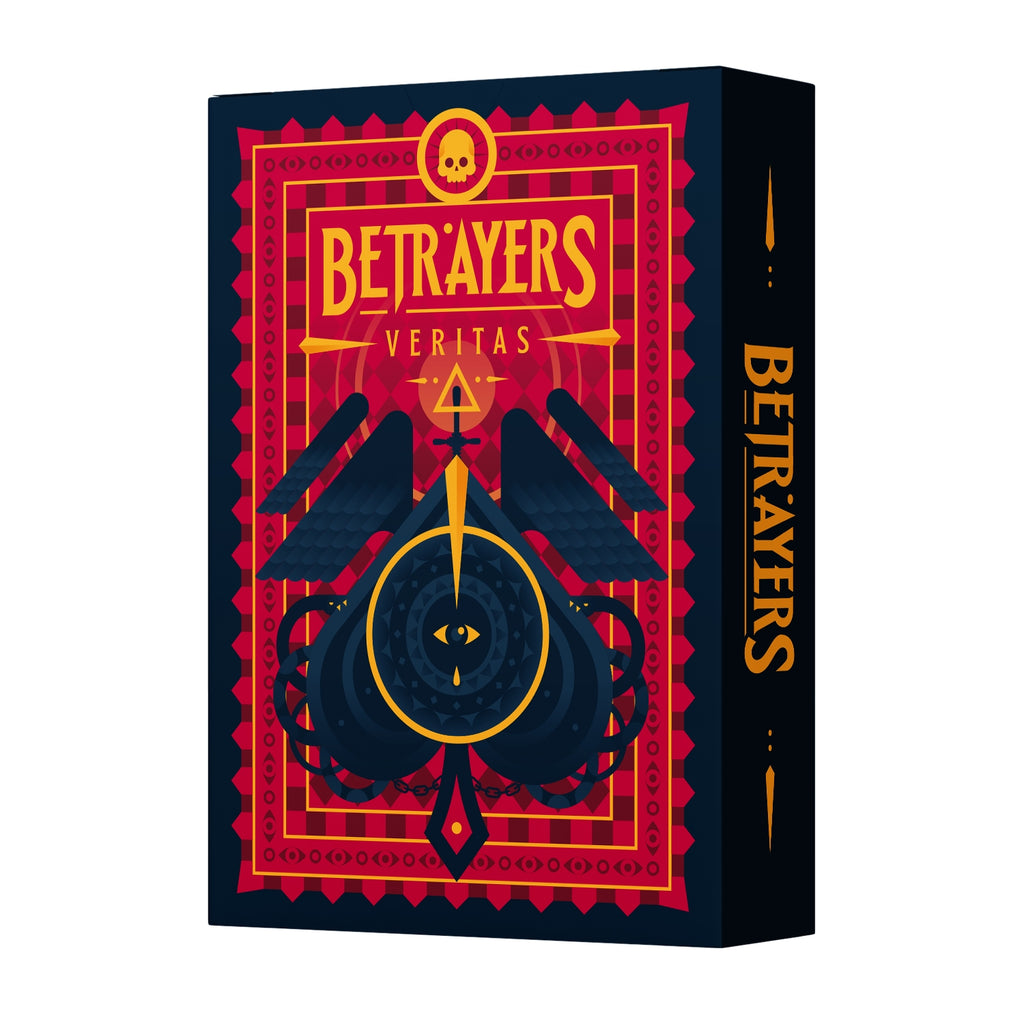 Betrayers Playing Cards Veritas Rare Inverted Deck by Thirdway Italy Limited Edition