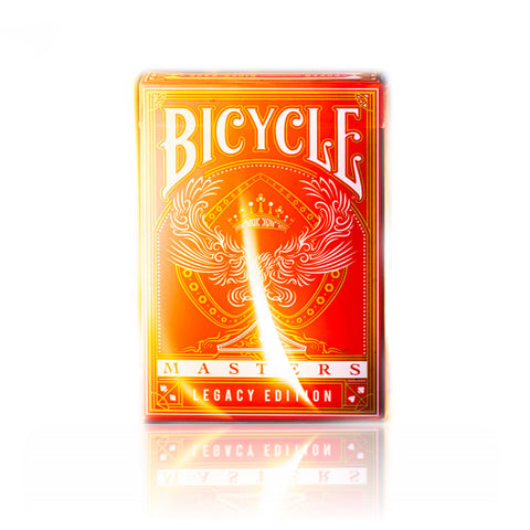 Bicycle Legacy Masters Red Playing Cards Classic Crushed Stock