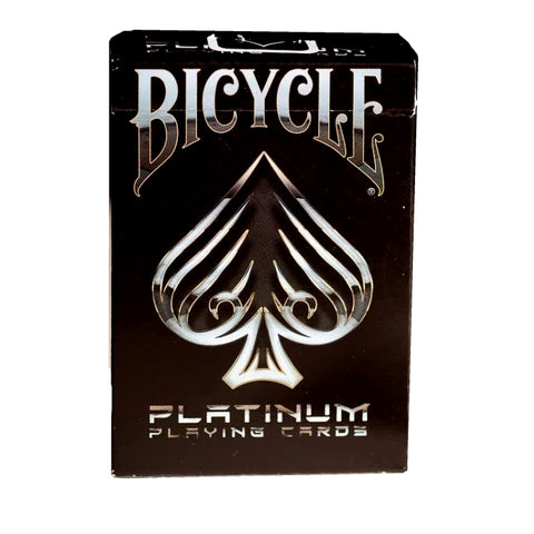 Bicycle Platinum Playing Cards by Elite Air-Cushion Finish