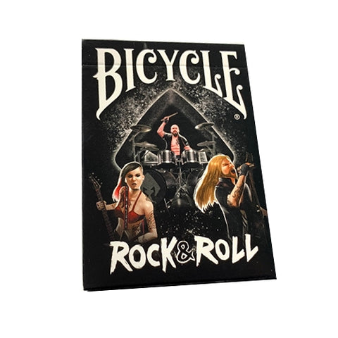 Rock & Roll Playing Cards Limited Edition Bicycle deck