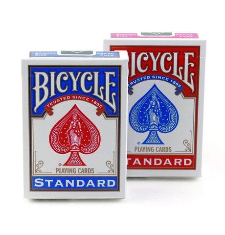 Bicycle Standard Playing Cards Blue & Red Editions Set 2-Decks