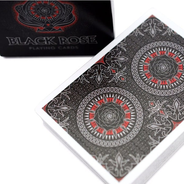 Black Rose Playing Cards Bicycle Limited Edition Deck