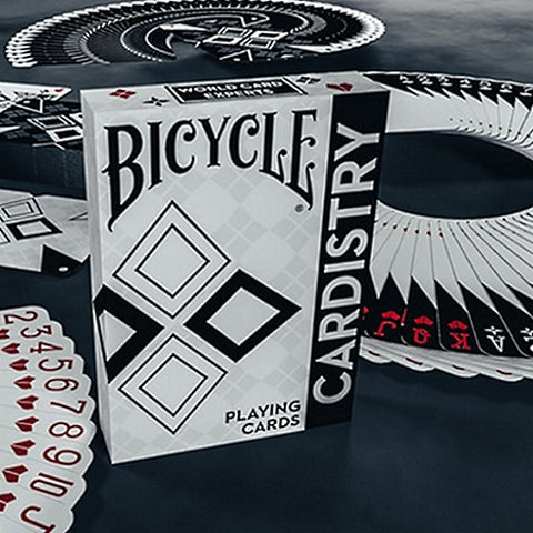 Bicycle Cardistry Playing Cards Deck Black & White Edition