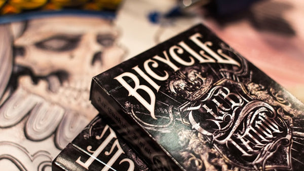 Club Tattoo Artwork Playing Cards Premium Deck Bicycle