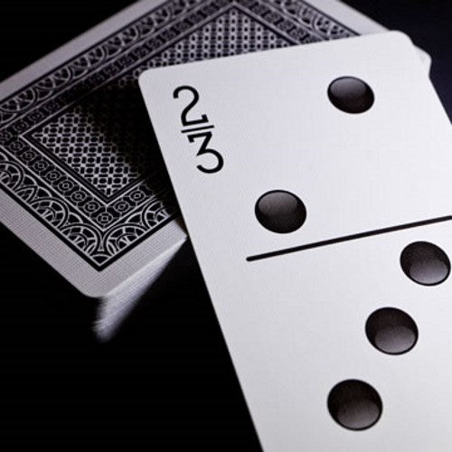 Double Nine Domino Playing Cards Deck Card Game Gift