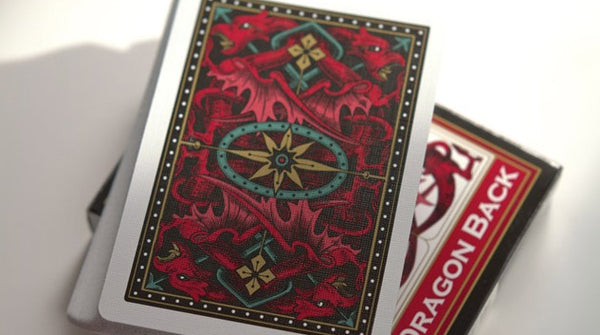 Dragon Back Playing Cards Original Red Edition Deck