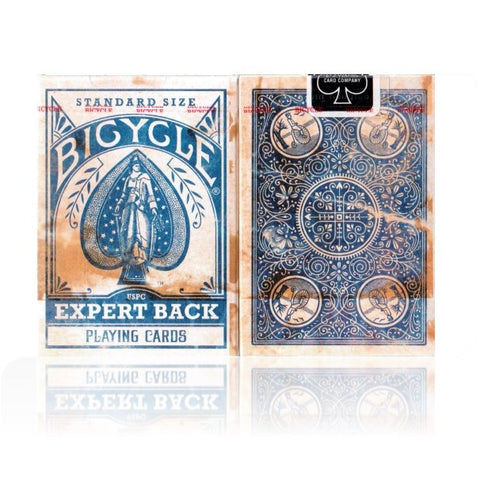 Expert Back Playing Cards Blue Edition Poker Magic Brand New Made in USA