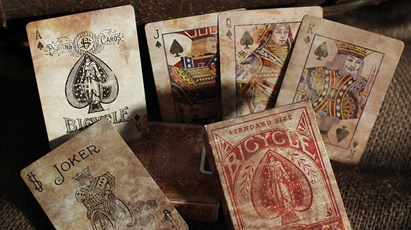 Expert Back Playing Cards Heritage Series Deck Old Style Look