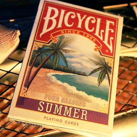 Summer Playing Cards Four Seasons Limited Edition Numbered deck