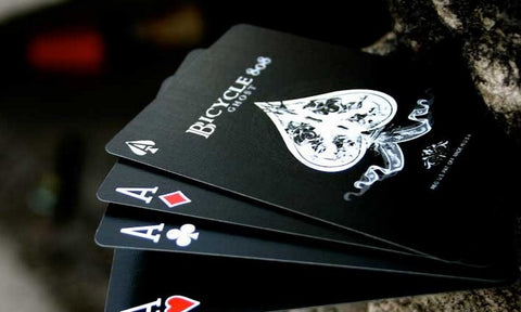 Black Ghost 2nd Edition Ellusionist Premium Playing Card Deck Brand New & Sealed