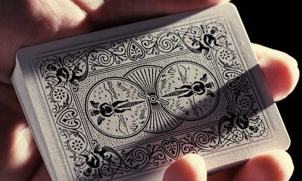 Buyworthy:Ghost Playing Cards White Edition Ellusionist Deck Brand New & Sealed