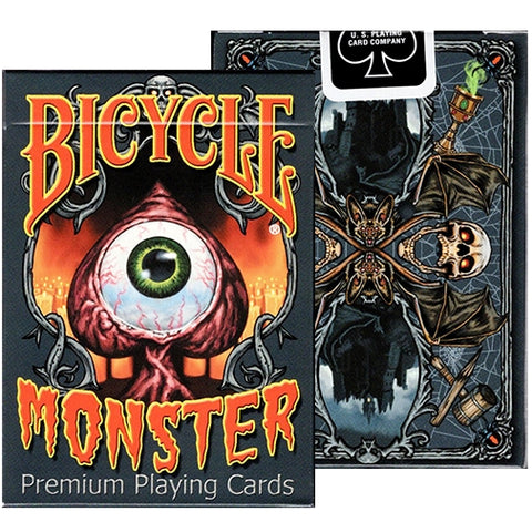Monster Playing Cards Bicycle Limited Edition Deck