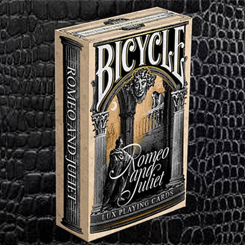 Montague vs Capulet Romeo and Juliet Playing Cards Bicycle Edition by Lux