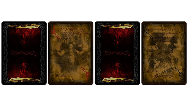 Necronomicon Playing Cards Limited Edition Fantasy Deck