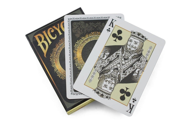Phenographic Playing Cards Bicycle Black & Gold Deck