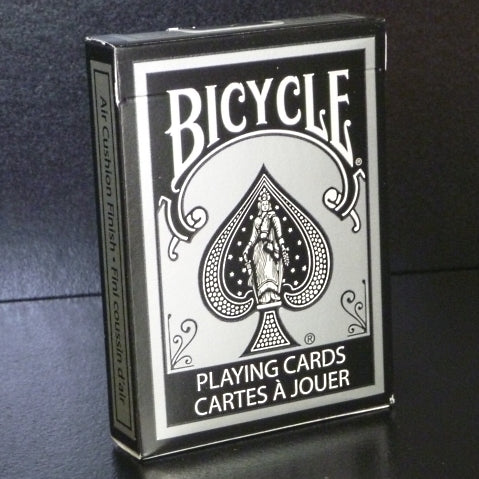 Silver Playing Cards Rare Bicycle French Cartes A Jouer Made in Canada