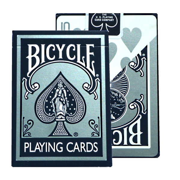 Silver Bicycle Playing Cards Deck 2005 Edition Made in USA