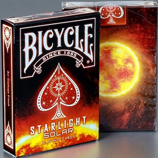 Starlight Solar Playing Cards Bicycle deck made in USA