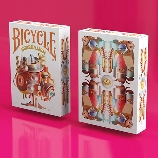Surrealism Playing Cards Art Bicycle Deck by Riffle Shuffle