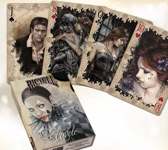 Favole Playing Cards Victoria Frances Gothic Vampires Fantasy