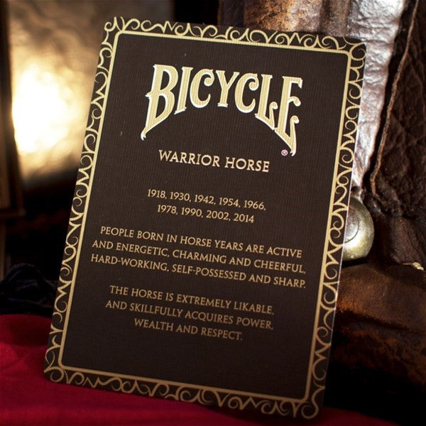 Buyworthy:Warrior Horse BICYCLE Poker Playing Cards deck Brand New made in the USA