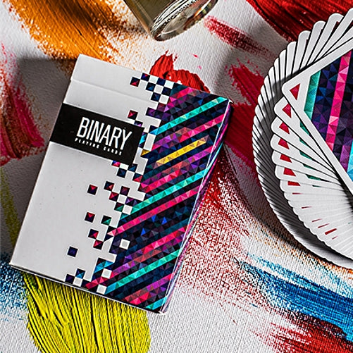 Binary Playing Cards by BOCOPO Casino Grade made in USA