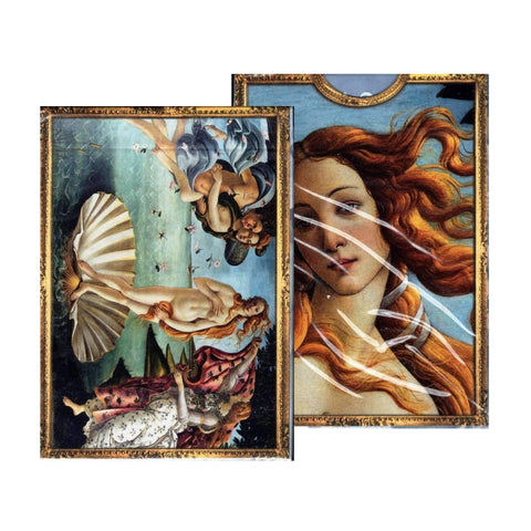 Birth of Venus Playing Cards Puzzle Artwork deck