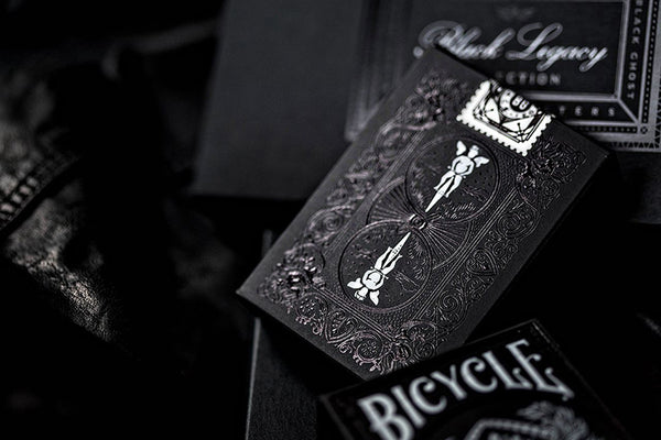 Black Ghost Playing Cards Legacy Edition Ellusionist Performance Coating
