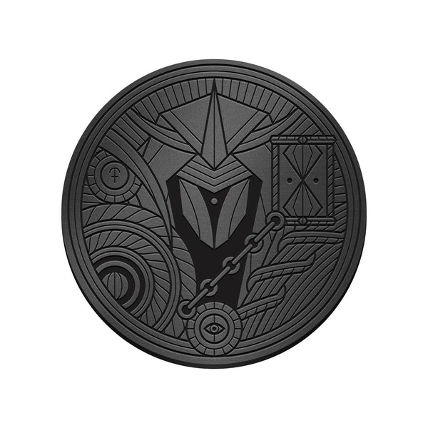 Monolith Black Shard Coin by Thirdway Industries Playing Cards, designed in Italy