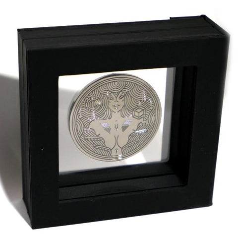 Monolith Black Shard Coin by Thirdway Industries Playing Cards in Display Case