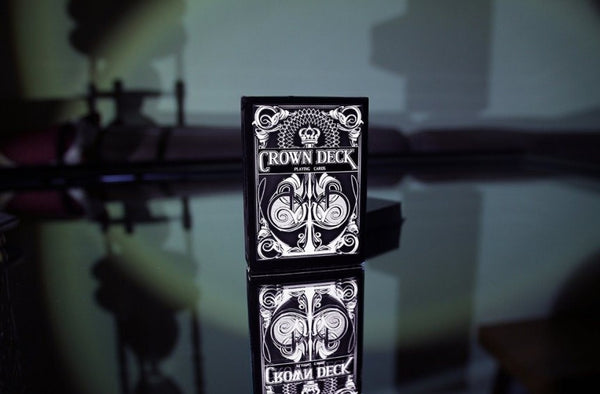 Buyworthy:Black Crown Playing Cards Limited Edition Deck Poker Magic Brand New Made in USA