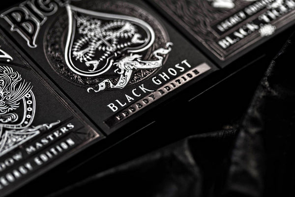 Black Ghost Playing Cards Legacy Edition Ellusionist Performance