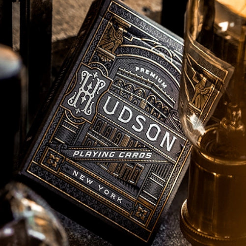 Hudson Playing Cards Black by Theory 11 Luxury deck designed in New York