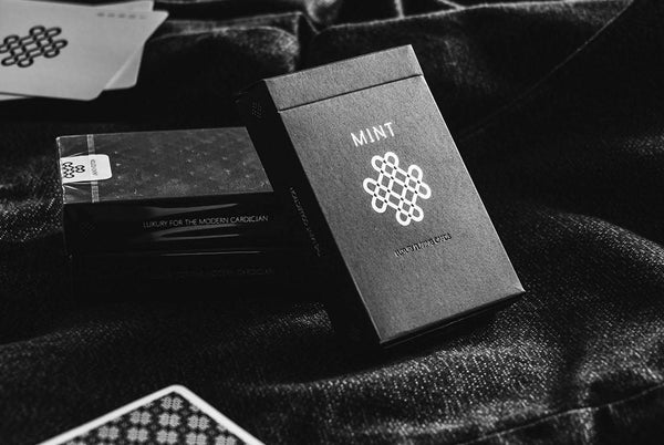 Black Mint Playing Cards Original Launch Edition Rare with Marking system