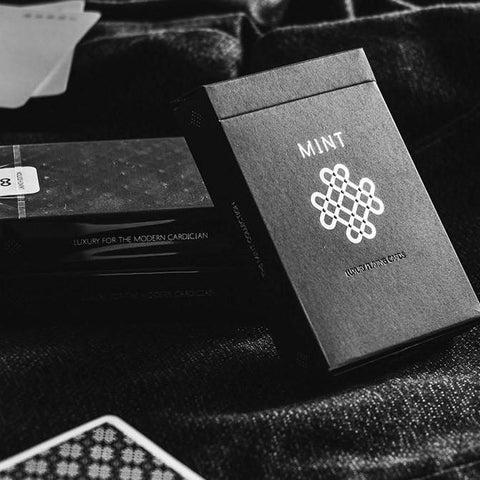 Black Mint Playing Cards Original Launch Edition Rare Deck ~ Magic Marking system