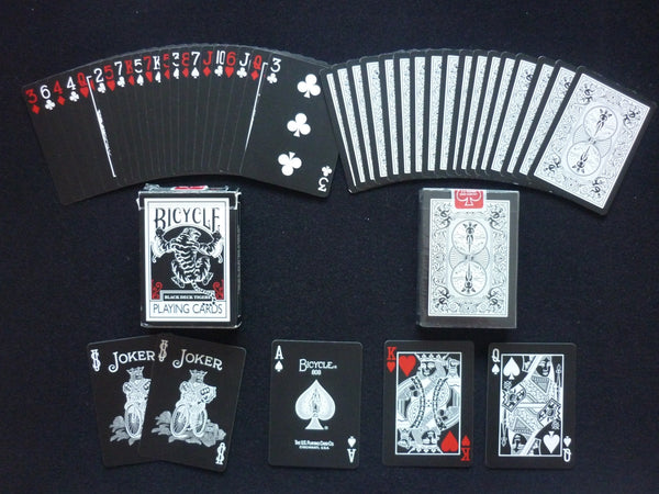 Buyworthy:Black Tiger Playing Cards Red Deck Ellusionist Magic Poker Brand New & Sealed