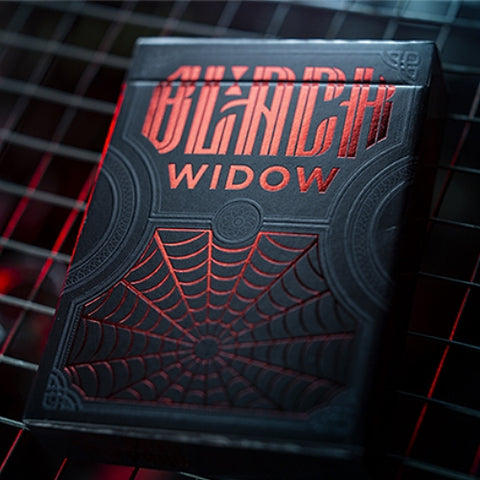 Black Widow Playing Cards Spider Red Venom Sealed Deck