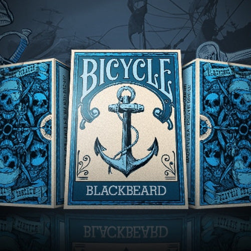 Blackbeard Pirate Playing Cards Limited Edition by BOCOPO