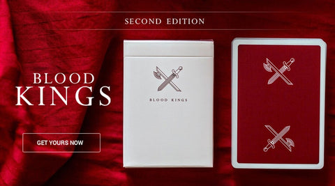 Blood Kings Playing Cards Premium 2nd Edition Deck Ellusionist California USA