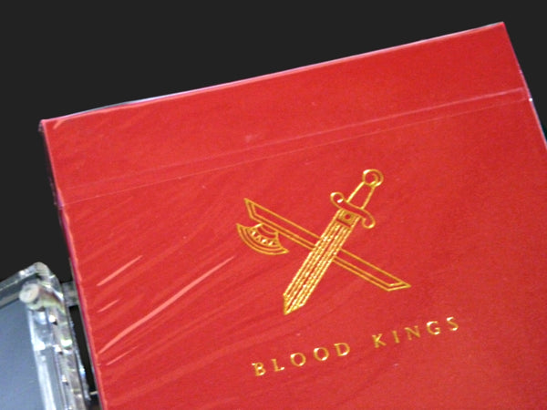 Blood Kings Playing Cards 1st Edition Rare V1 deck in Acrylic Case