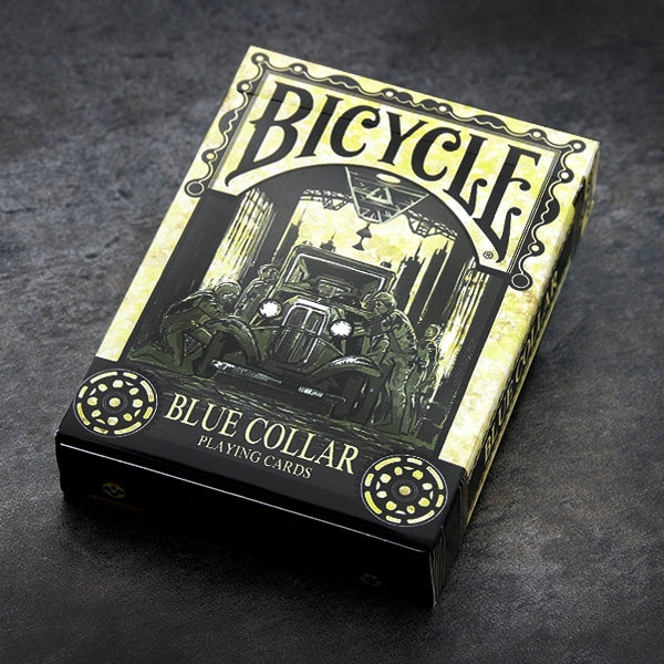Blue Collar Playing Cards Deck Numbered Editions Number Seal