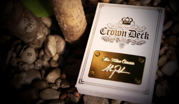 Blue Crown Playing Cards Luxury Diamond and Red Edition 2013 Rare 2-Deck Set