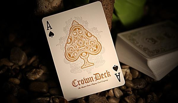Blue Crown Playing Cards Luxury Diamond Edition 2013 Rare Deck