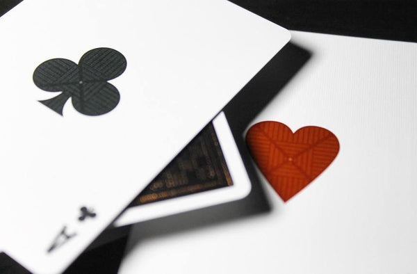 Greille Playing Cards Luxx Black Gloss Wooden Boxset