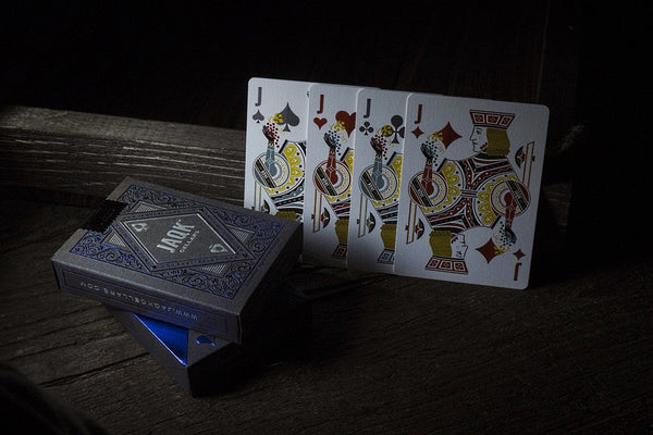 JAQK Blue Playing Cards Rare 4th Edition Collectable Wine Deck